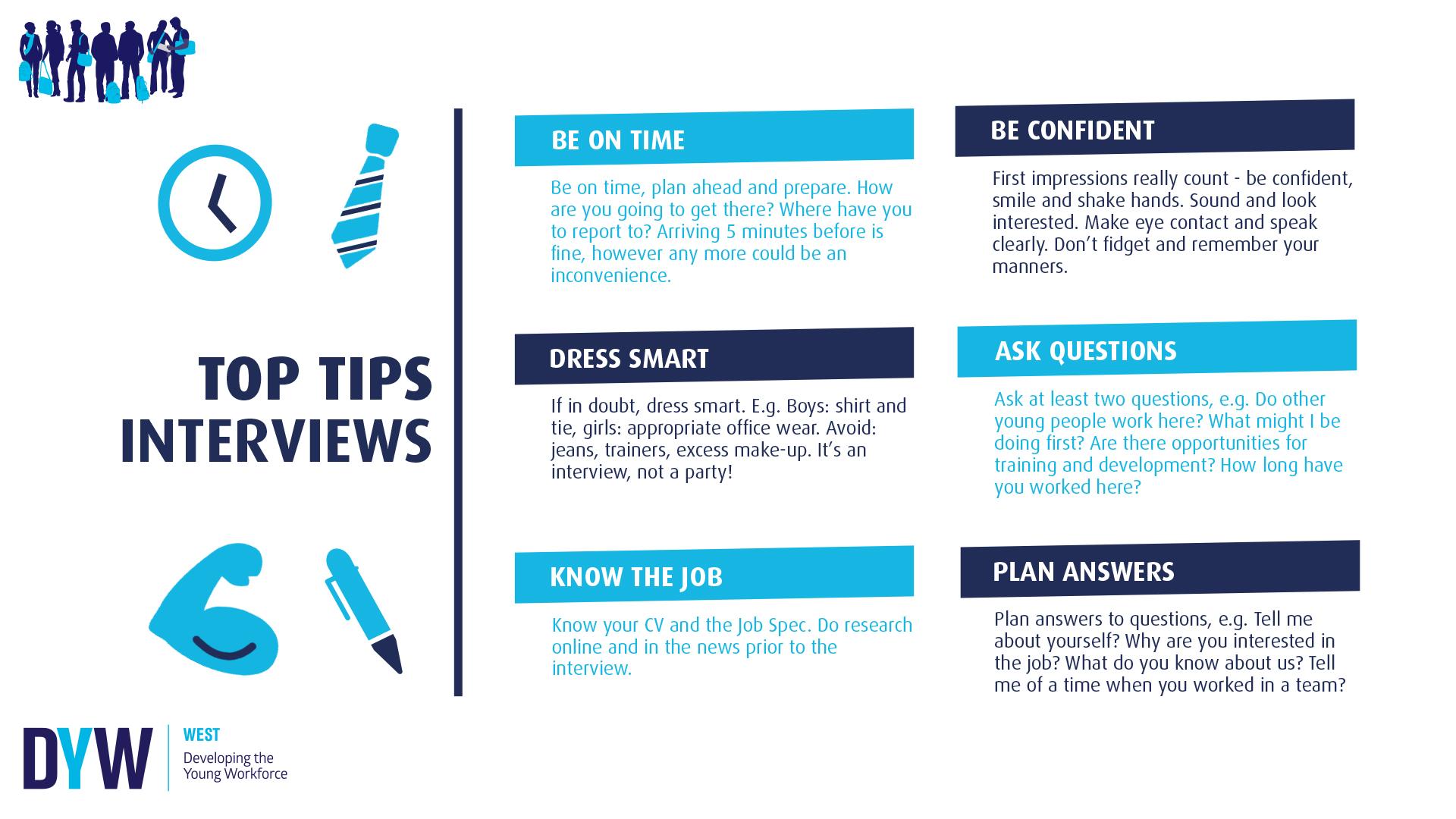 Top Tips: Interviews
